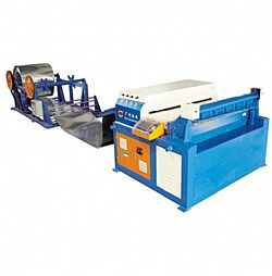 Decoiler and leveller line
